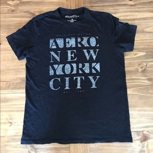 Gently used Blue Aeropostale t-shirt Sz L